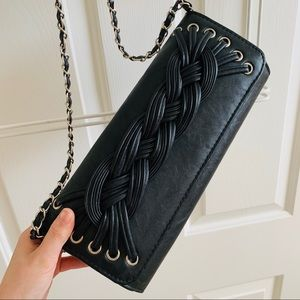 Handbags - Black Crossbody/Clutch